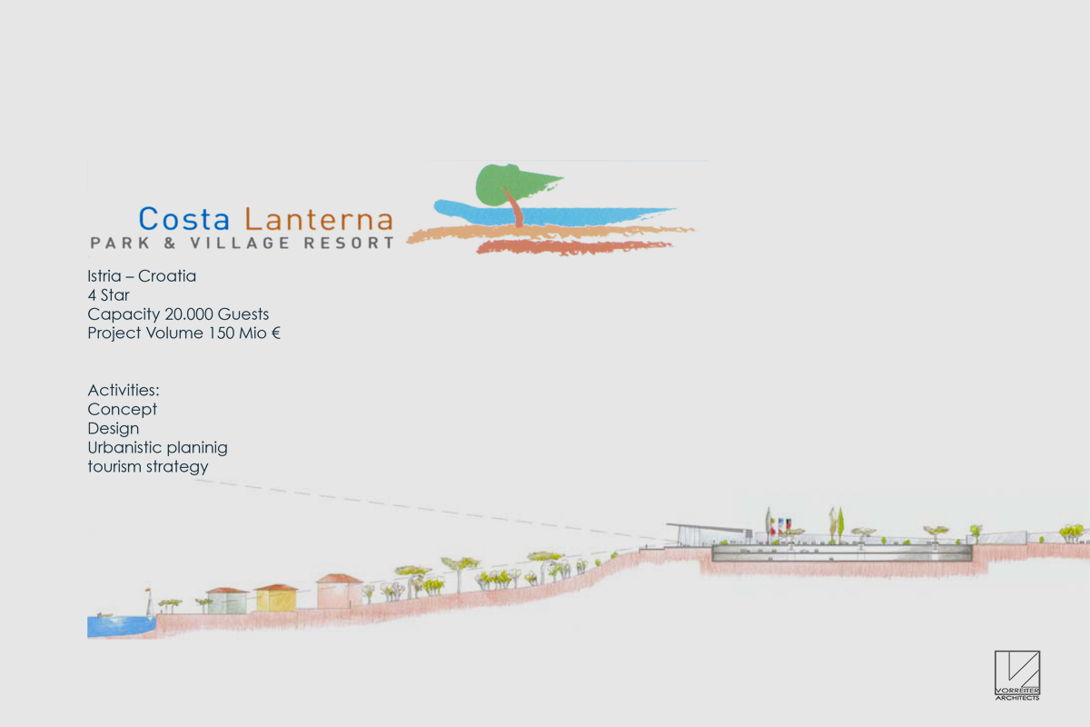 Masterplan Costa Lanterna Istrien