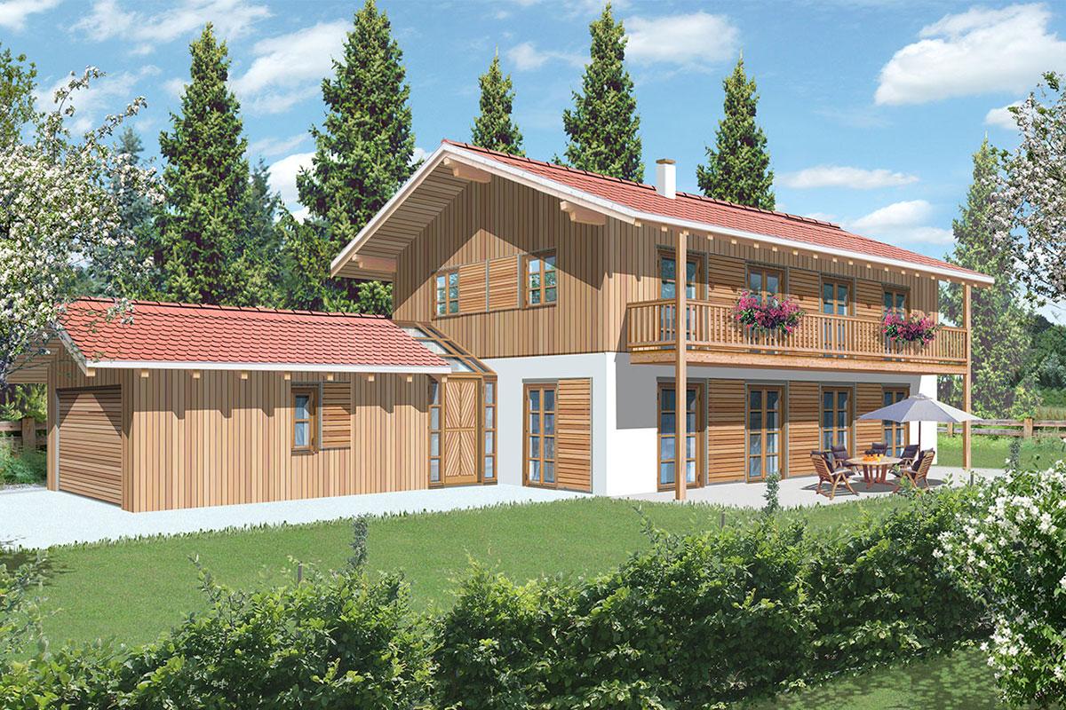 Neubau - Einfamilienhaus in Rottach-Egern