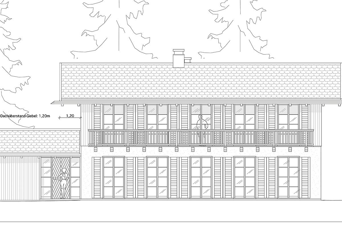 Neubau - Einfamilienhaus in Rottach-Egern - Plan