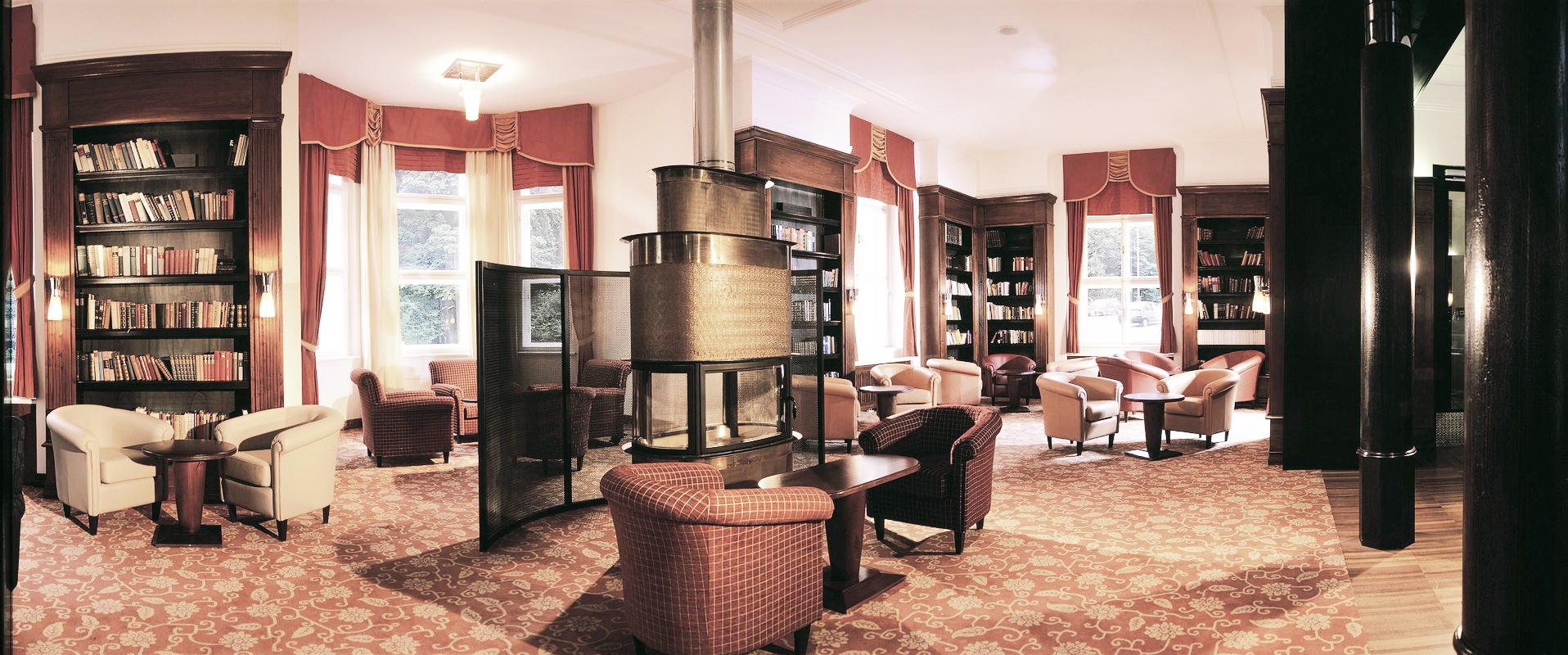 Hotel-Marienbad - Bibliothek