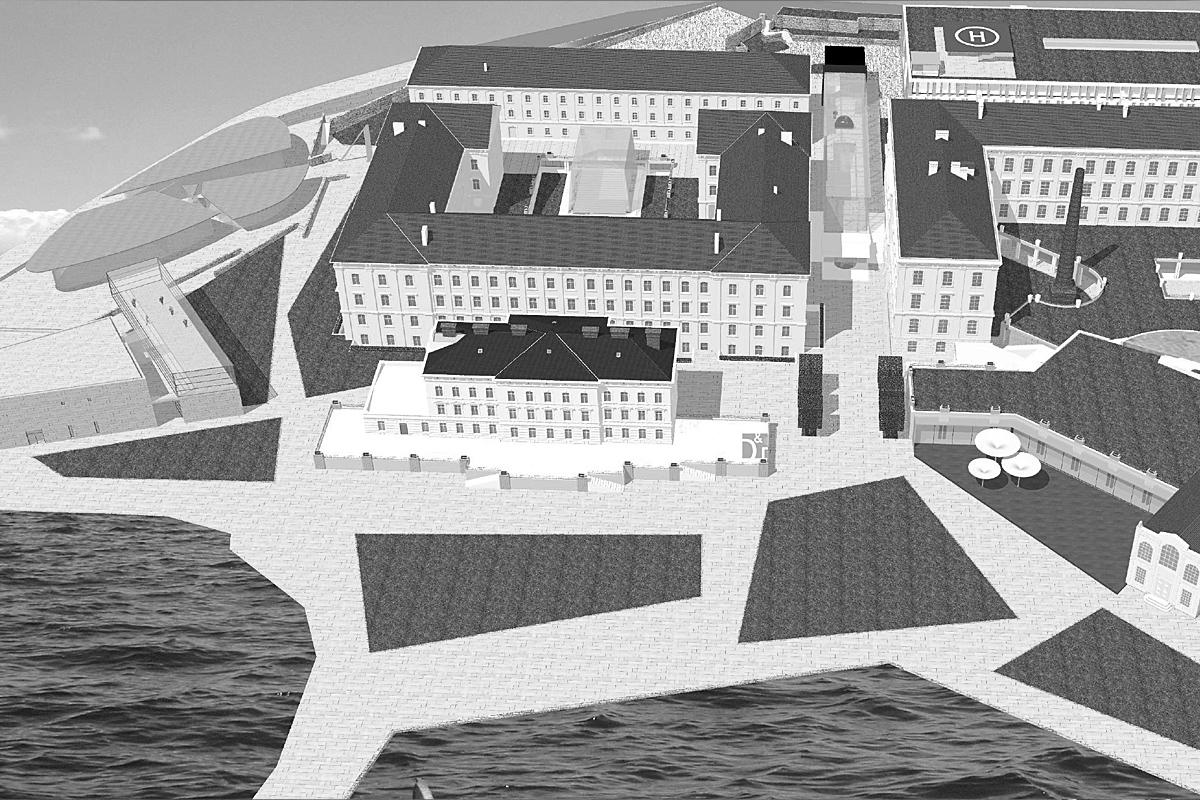 Wettbewerb 5-Sterne Hotel in Istrien