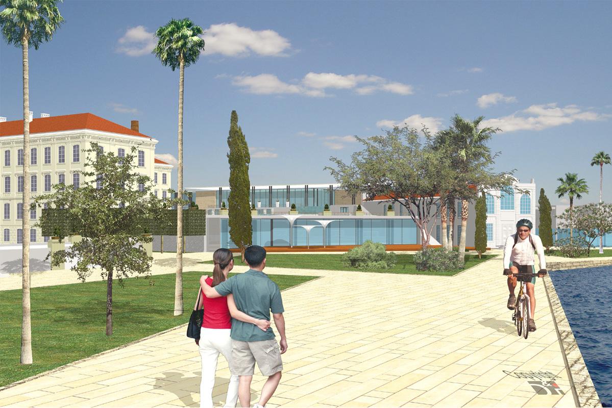 Wettbewerb Istrien Grand Hotel - wellness terrace