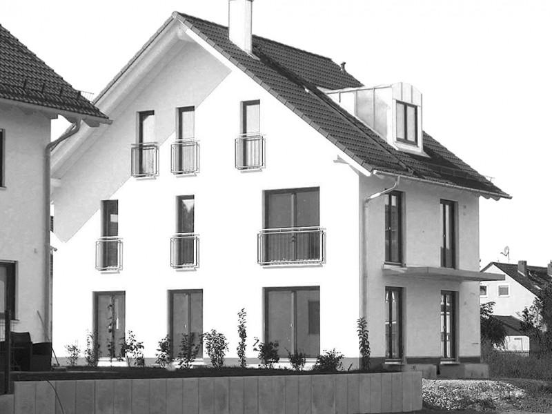 Neubau Doppelhaushälfte in Alling