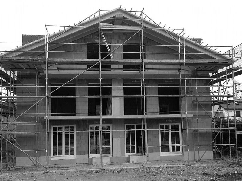 Neubau Mehrfamilienhaus, Langwied