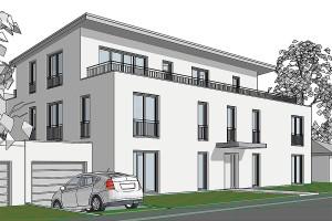 Neubau Mehrfamilienhaus in Trudering Entwurf, Planung und Bauleitung