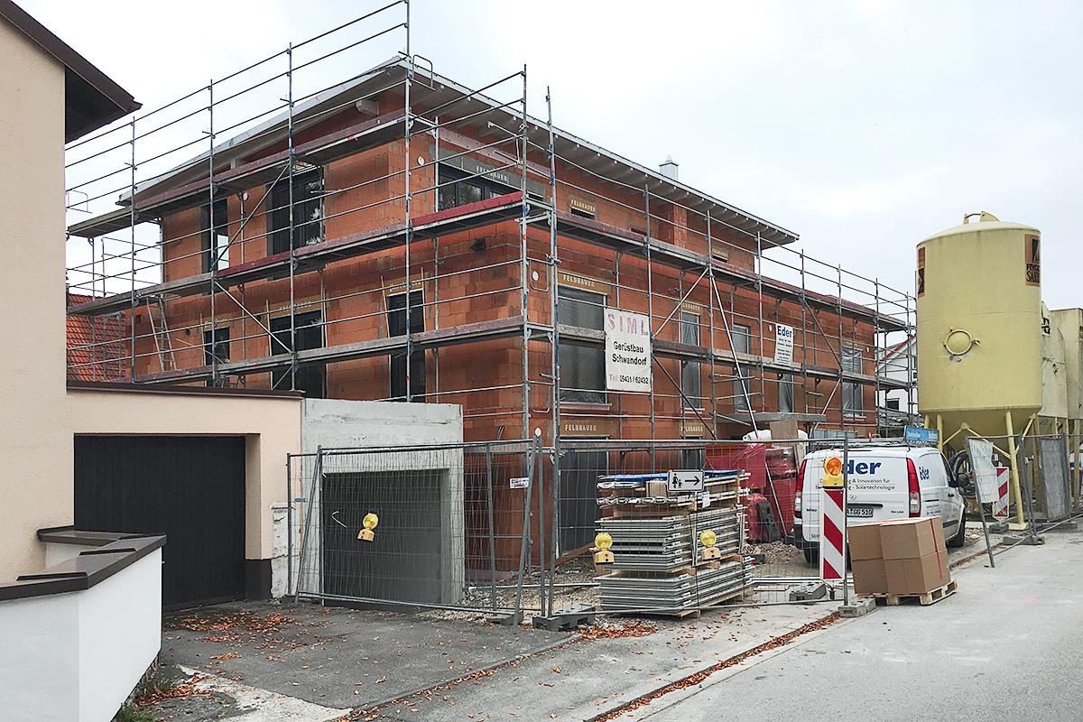 Neubau MFH Trudering - Stand Oktober 2015