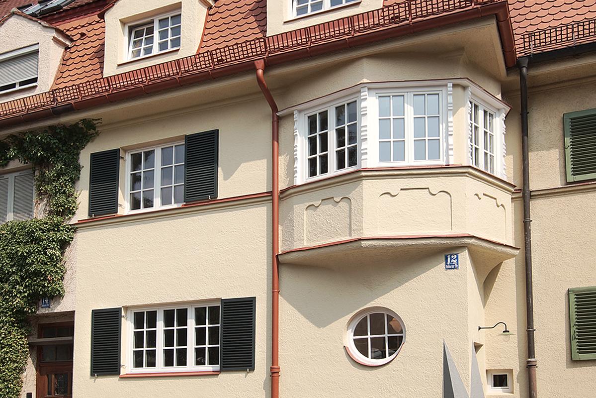Sanierung Vohburgerstraße - Fassadendetail