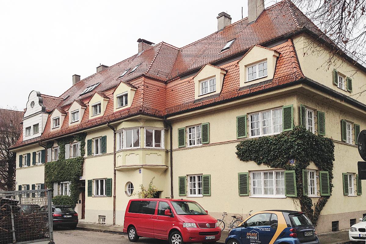 Sanierung Mietshaus in München, Vohburgerstraße
