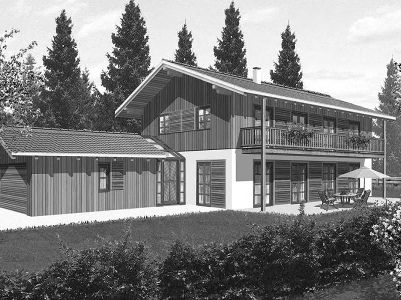 Neubau Einfamilienhaus Rottach Egern