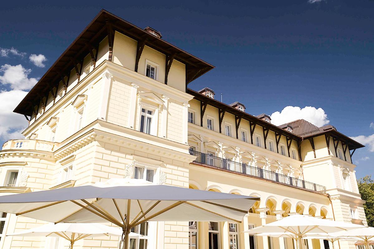 Grand Hotel Marienbad, Tschechien - Fassade