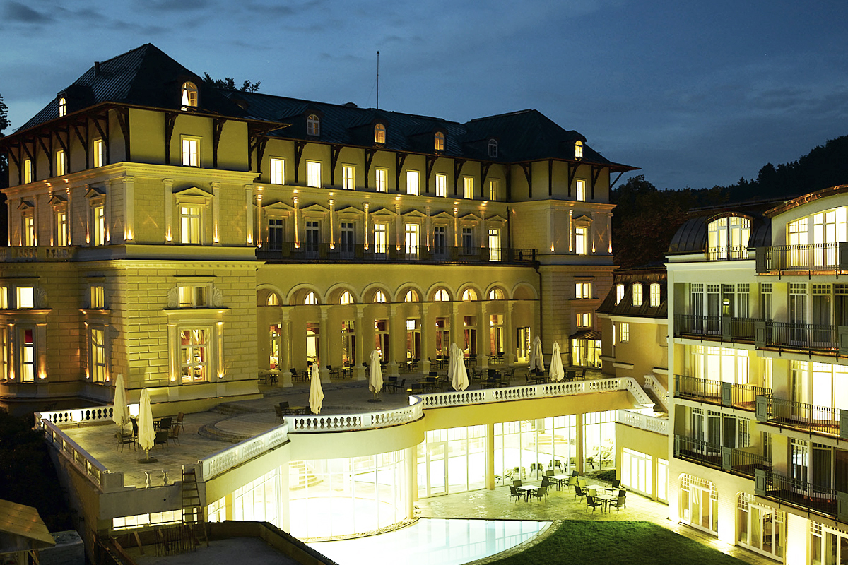 Grand Hotel Marienbad, Tschechien - Wellnessgarten