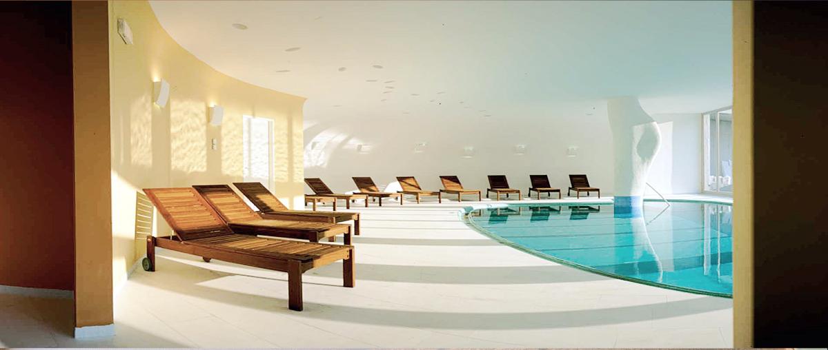Hotel Edelweiss, Meran - wellness apple tree garden