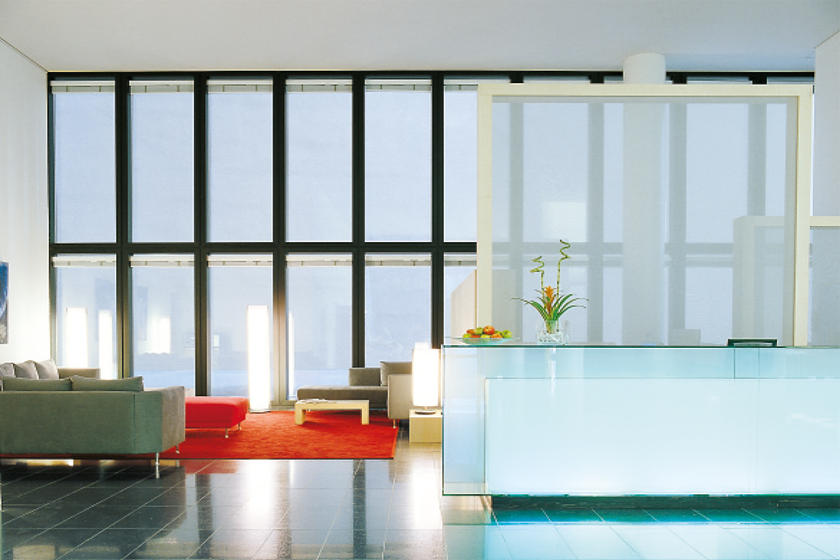Hotel im Messeturm Basel - Rezeption