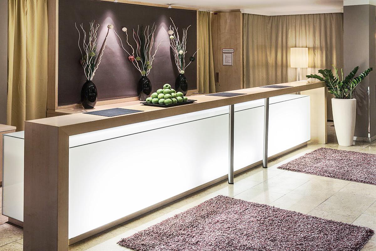 Hotel am Schottenfeld in Wien - Rezeption