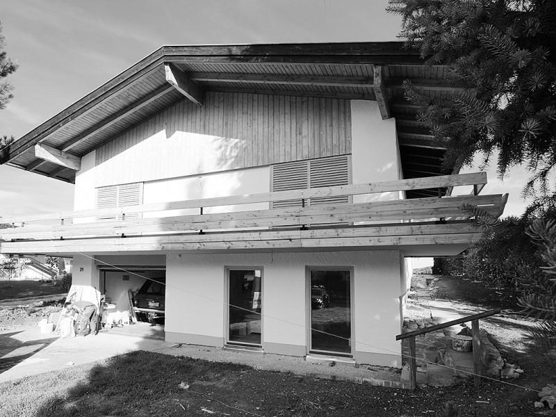 Sanierung Landhaus Schliersee