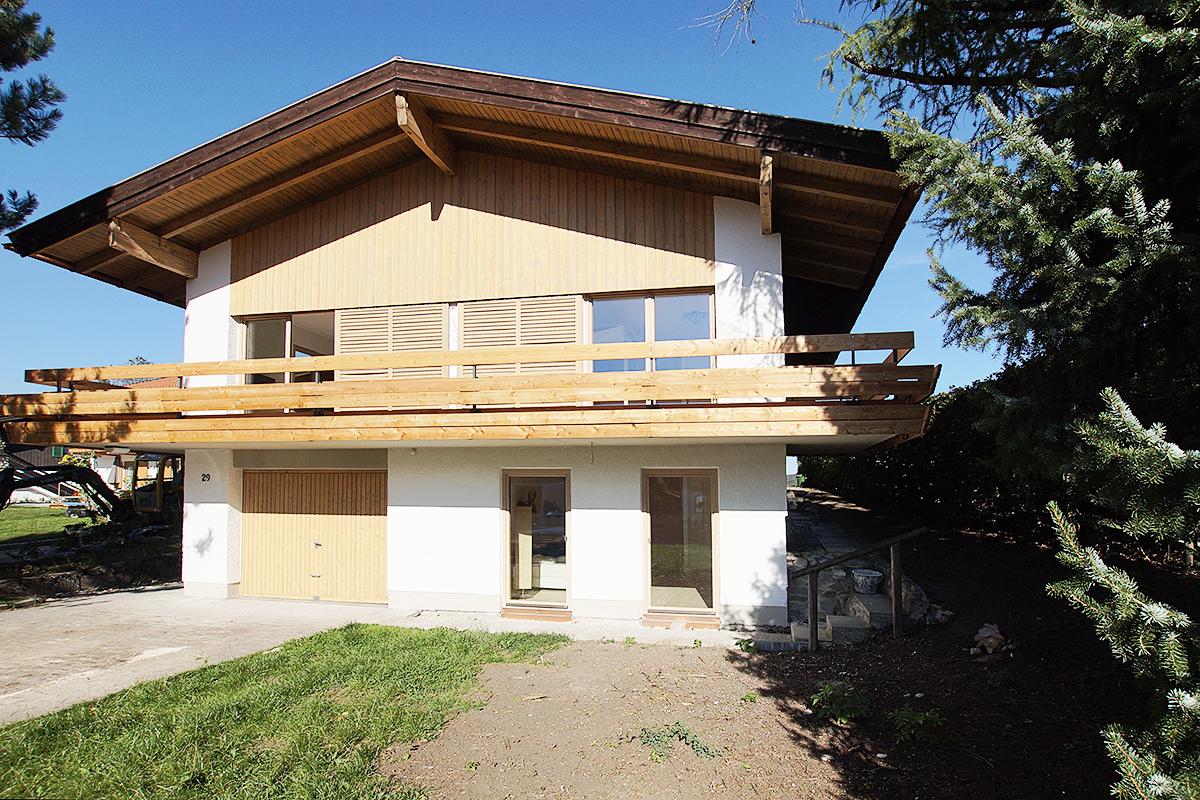 Sanierung Landhaus Schliersee Stand Sept 2015