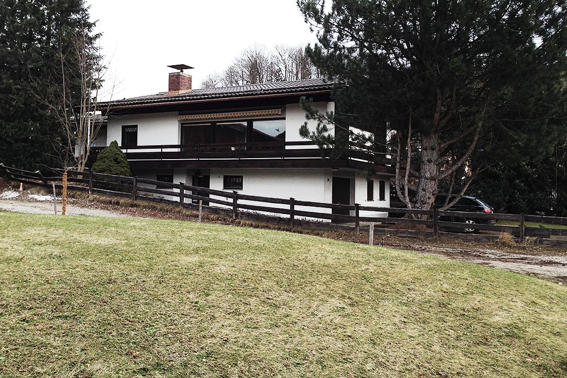 Sanierung Landhaus Schliersee - vorher