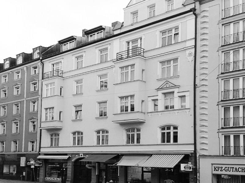 Sanierung Mietshaus Paul-Heyse-Straße München