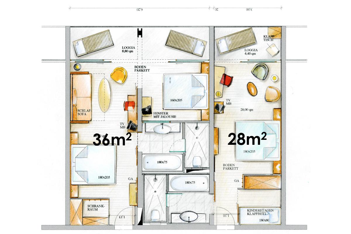 Masterplan Plava Laguna - Zimmer
